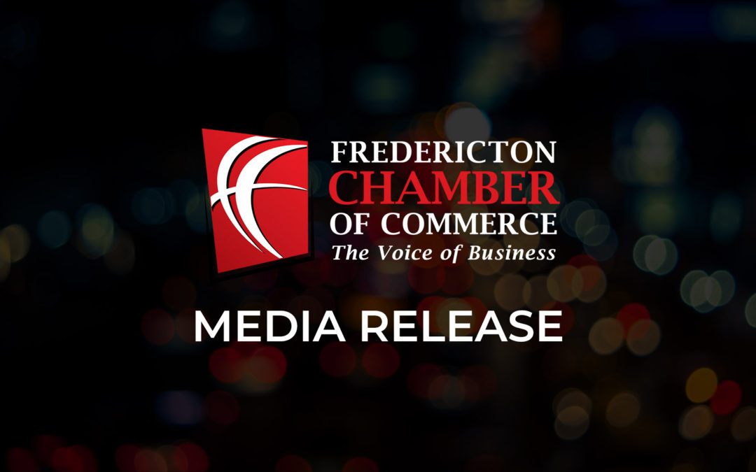 News Release: Fredericton Chamber Pleased NB Government to Begin Reducing Property Tax in 2020-21