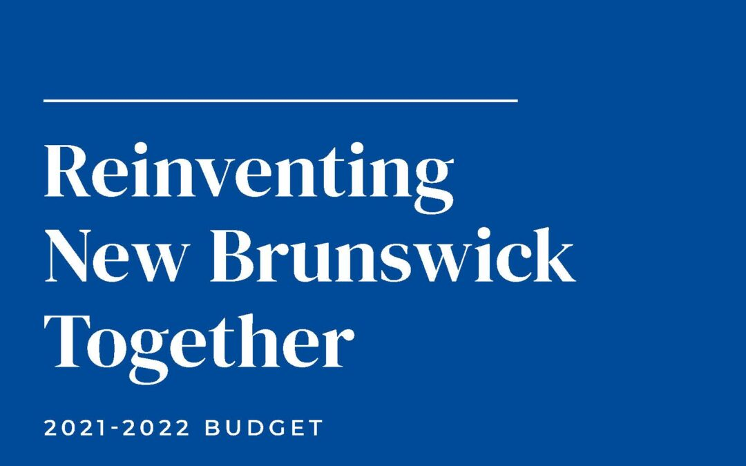 Commentary – 2021-22 NB Budget